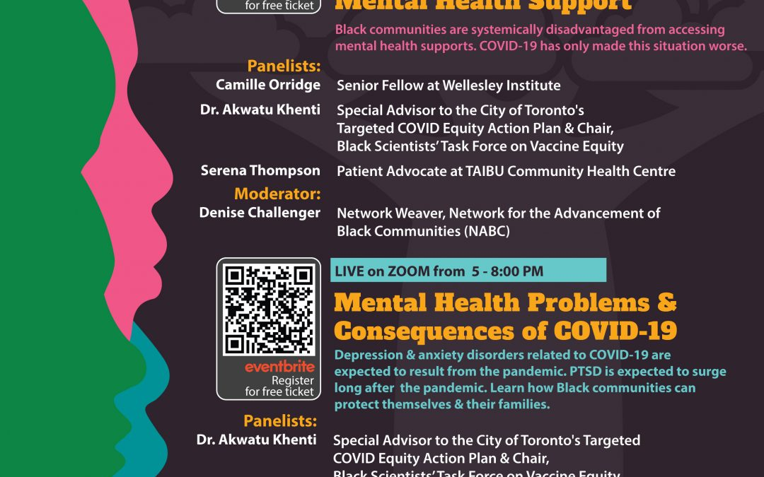 Black Mental Health Week Launch 2021